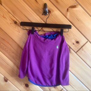 Polo by Ralph Lauren Shirts & Tops - Ralph Lauren Purple Hooded Sweatshirt Silky Lined3